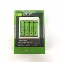 Bộ sạc pin GP ReCyko GPU411USB210E-2GB4