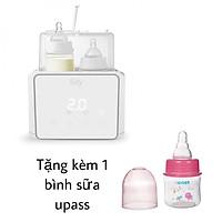 Máy Hâm Sữa Tiệt Trùng Điện Tử Duo 3 Fatzbaby FB3093VN - TẶNG bình sữa 160ml