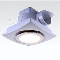Quạt thông gió âm trần có đèn LED Lavfill 12DL hàng chính hãng