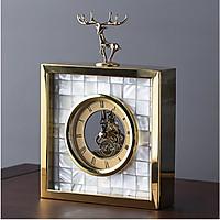 Đồng hồ trang trí để bàn DEER TOP
