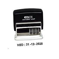 Dấu Ngày-Tháng-Năm Liền Mực có chữ NSX hoặc HSD -COLOP S120P