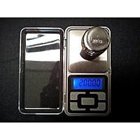 Cân điện tử mini bỏ túi 500g/0.01g thông minh, gọn nhẹ, tốc độ xử lý cực nhanh chính xác  ( Tặng kèm Nút cao su giữ dây điện)