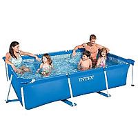 Bể bơi INTEX khung kim loại chữ nhật 2m2 cho bé  28270