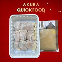 Sủi cảo ăn liền hộp 9 viên AKUBA Quick Food nhân đầy thịt thơm ngon, làm nhanh - ăn liền