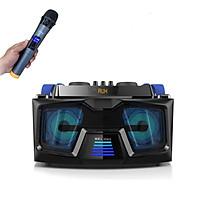 Bộ loa hát karaoke gồm 2 micro UHF dùng cho tivi smart và điện thoại A22  KM88 ( Hàng nhập khẩu )