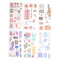 Sticker Dán Trang Trí ( Bộ 6 Tấm ) - My Style