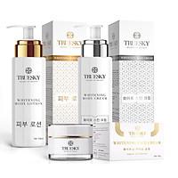 Bộ VIP02 sản phẩm tắm trắng toàn thân cấp tốc và dưỡng trắng da mặt Truesky - Mỹ phẩm chính hãng