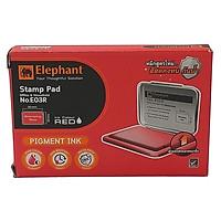 Hộp Dấu Tampon Elephant Đỏ Cỡ 03