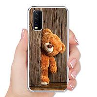 Ốp lưng điện thoại VIVO Y20 / Y20S / Y21S / Y12S - Silicon dẻo - 0136 TEDDY - Hàng Chính Hãng