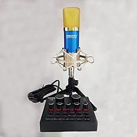 Micro Livestream SNQISY MS800 - SOUNDCARD V8 - Hàng Chính Hãng