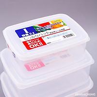 Hộp đựng thực phẩm, đồ khô cho gia đình  nhựa từ PP cao cấp không chứa chất gây hại 2L - Hàng Nhật nội địa