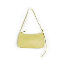 IELGY Yellow simple women's messenger bag