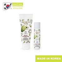 Bộ chăm sóc da nội địa Hàn giúp làm sạch, cấp ẩm, thu nhỏ lỗ chân lông Noni Premium
