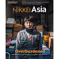 Nikkei Asian Review: Nikkei Asia - 2021: OVERBURDENED - 5.20, tạp chí kinh tế nước ngoài, nhập khẩu từ Singapore