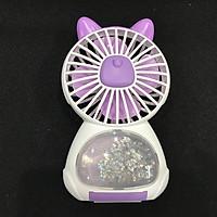 quat light mini fan có đèn led