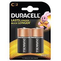 Pin Duracell Alkaline C Battery ( Bộ 2 Viên - Pin C ) - Hàng chính hãng