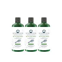 Combo 3 Nước rửa tay khô tinh dầu Sả Chanh PK 100ML – kết hợp tinh dầu tràm trà, diệt khuẩn 99,9%