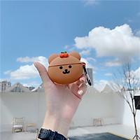 Ốp - Bao dành cho airpods 1/2/pro hình gấu cherry mịn đẹp siêu bảo vệ airpods