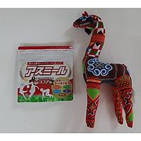 Sữa Asumiru Nhật Bản 180g ( Vị Ca Cao ) - Giúp Tăng Trưởng Chiều Cao Vượt Trội ( cho bé 3-16 tuổi ) – Tặng chú hươu cao cổ nhồi bông vải thổ cẩm dễ thương