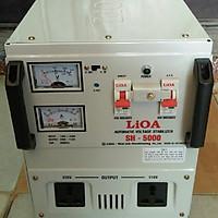 Ổn áp lioa 5kva model SH - 5000II đời mới nhất dây đồng 100%
