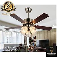 Đèn Quạt trần trang trí nội ngoại thất mã 321 - Đèn Trang Trí Phương Anh