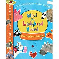 The What The Ladybird Heard Sticker Book