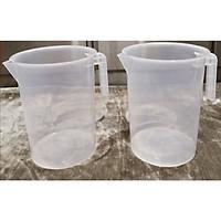 Bộ 2 ca đong nhựa có vạch chia 5 lít