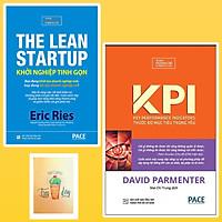 Combo KPI - Thước Đo Mục Tiêu Trọng Yếu và Khởi Nghiệp Tinh Gọn ( Tặng Kèm Sổ Tay Xương Rồng )