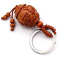 Combo 3 móc khóa lồng đèn khắc Phật chú