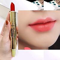 Son GOLD Matte Lipstick 2in1 Mini Garden Màu Hồng Đào