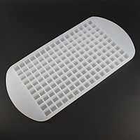 silicone Ice Cube Tray Mold Diamond Shape 160 Grids Ice Mould Fruit Cube