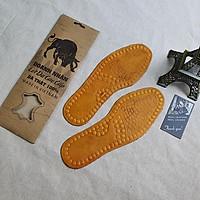Lót giày da bò thật cao cấp SL101 (Đen/Nâu)- 100% da bò thật