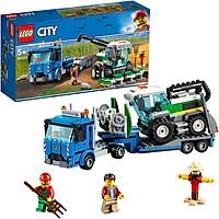 Đồ Chơi Lắp Ghép, Xếp Hình LEGO - Xe Vận Tải Máy Gặt 60223 (Hàng Clearance-Không Đổi Trả)