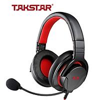 Tai nghe chụp tai TAKSTAR GM 200- AVSTAR, tai nghe có mic, tai nghe chơi game, tai nghe nghe nhạc- hàng chính hãng