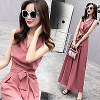 bộ jumpsuit nữ/ đần/váy sang chảnh hot mùa hè 2021 mầu hồng