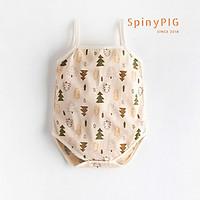 Quần áo sơ sinh 0-24 tháng ORGANIC bộ body 2 dây cho bé sơ sinh 100% COTTON HỮU CƠ TỰ NHIÊN siêu đáng yêu