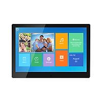 Khung ảnh kỹ thuật số 10.1 inch màn hình cảm ứng hỗ trơ APP truyền ảnh bộ nhớ 16GB màu đen