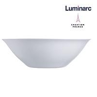 Bộ 6 Tô Salad Thuỷ Tinh Luminarc Carine Trắng 27cm - LUCAD2370
