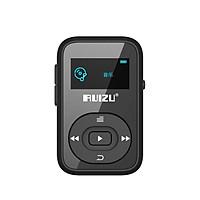 RUIZU X26 8G Black Wireless Bluetooth Sport MP3