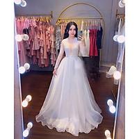 Đầm dự tiệc mặc cưới TRIPBLE T DRESS -Size M/L(kèm ảnh/video thật)MS269V