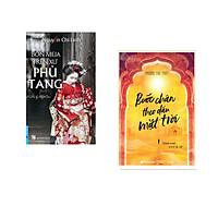 Combo 2 cuốn sách: Bốn Mùa Trên Xứ Phù Tang + Bước Chân Theo Dấu Mặt Trời