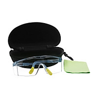 Protective Safety Glasses Eyewear Adjustable Anti Fog Scratch Resistant Eye Protection Goggles UV Blocking Clear Mirror
