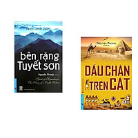 Combo 2 cuốn sách: Bên Rặng Tuyết Sơn + Dấu Chân Trên Cát