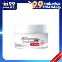 Kem Dưỡng Trắng, Dưỡng Ẩm, Mờ Thâm Da Angel Liquid 7 Day Whitening Program Glutathione 700 V-Cream 50ml