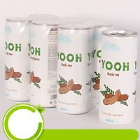 Nước ép me từ trái cây tươi YOOH - Lốc 6 lon (240ml/lon)