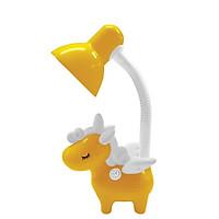 Đèn bàn bảo vệ thị lực Điện Quang ĐQ DKL16 YW B (kiểu con kỳ lân, vàng- trắng, bóng led daylight)