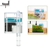 Bộ lọc bể cá Nepall Máy bơm nước Bộ lọc thác nước Lọc nước tuần hoàn / Lọc 3 lớp / Tiết kiệm năng lượng 2,5W
