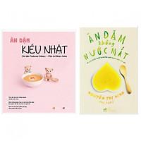 Combo Ăn dặm kiểu Nhật + Ăn dặm không nước mắt ( Bộ 2 cuốn ) + Tặng kèm Bookmark