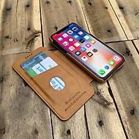 Bao da kiêm ví dành cho iPhone 11 - Màu vàng