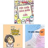 """Sách - Combo 3 cuốn, lẻ tùy chọn: Từ Điển Tiếng """"Em"""" + Vui Vẻ Không Quạu Nha + Một Cuốn Sách Buồn...Cười"""